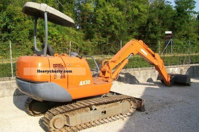 2002 ABG  AIRMAN AX 30-2 Construction machine Drill machine photo