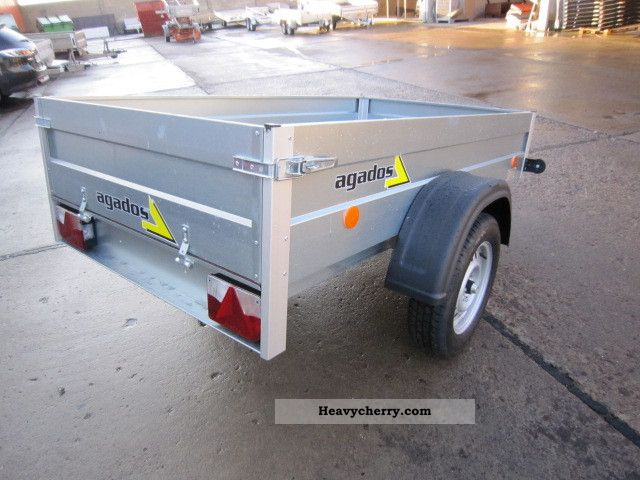 2010 Agados  Mobile Trailer Trailer photo