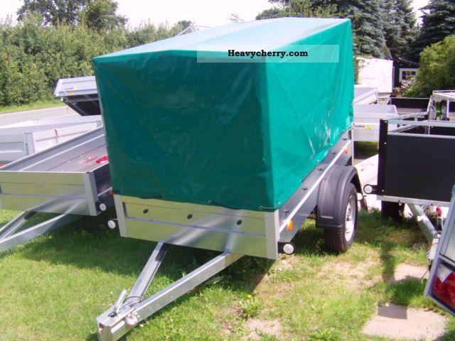 2011 Agados  Phone 750 kg 206x110x120 cm green tarpaulin Trailer Trailer photo