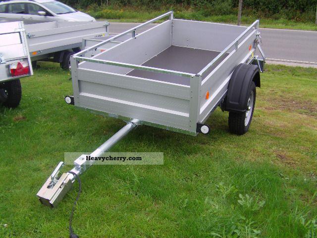 2011 Agados  VZ21 750 kg 206x110x45cm with aluminum railing Trailer Trailer photo