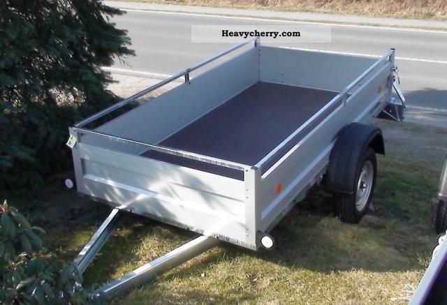 2011 Agados  VZ26 very stable under 750 kg aluminum frame! Trailer Trailer photo