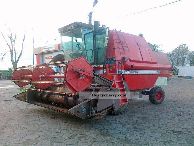 1987 Agco / Massey Ferguson  31 Agricultural vehicle Combine harvester photo
