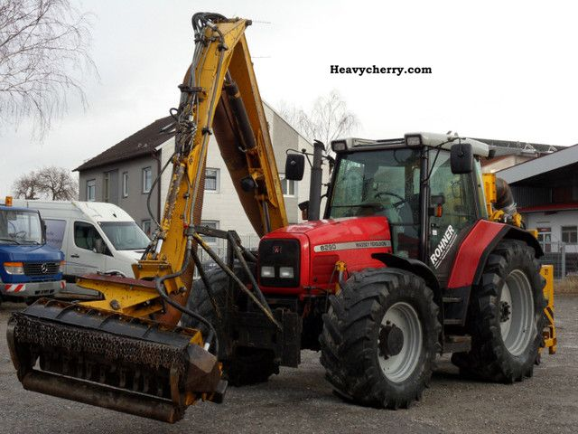 2001 Agco / Massey Ferguson  MF 6290-4 MF 6200 Cutting System with four-wheel Agricultural vehicle Tractor photo