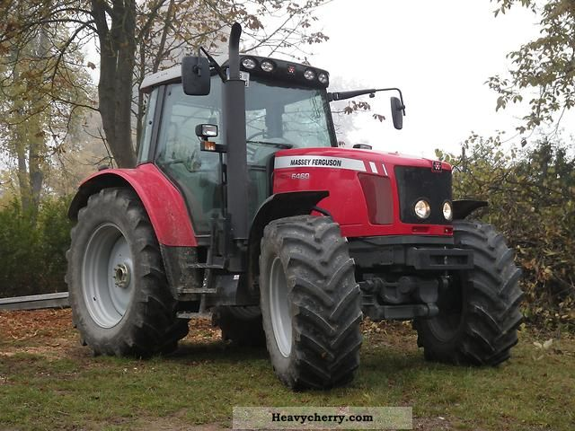 2009 Agco / Massey Ferguson  6460 Agricultural vehicle Tractor photo
