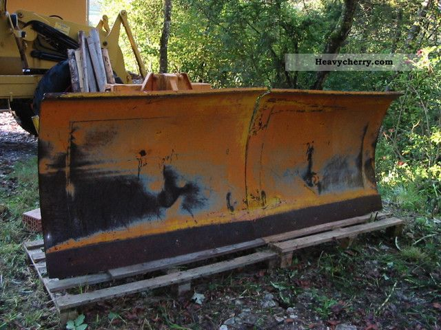 2011 Ahlmann  Snow plow for Schmidt AS 7 Construction machine Wheeled loader photo