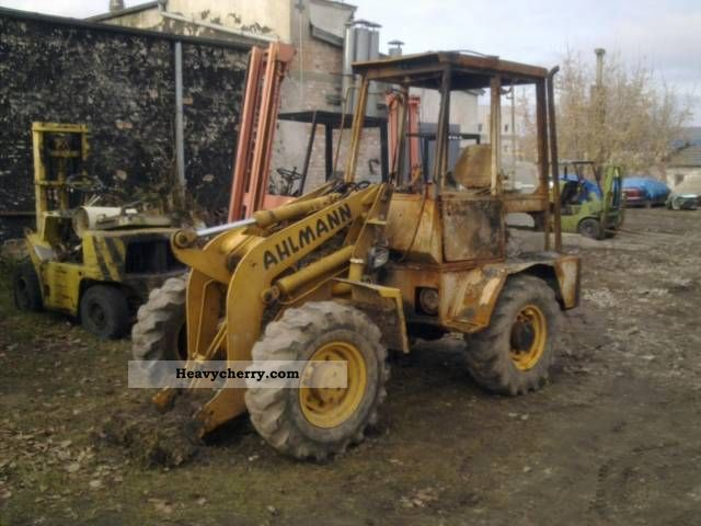 1994 Ahlmann  AHLMANN Construction machine Wheeled loader photo