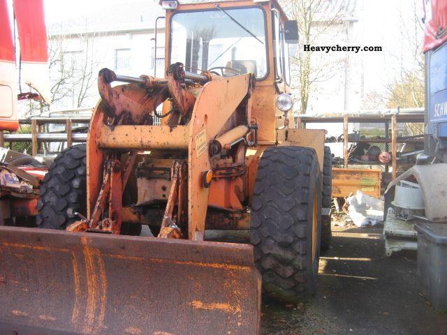 1989 Ahlmann  AS 10 Construction machine Wheeled loader photo