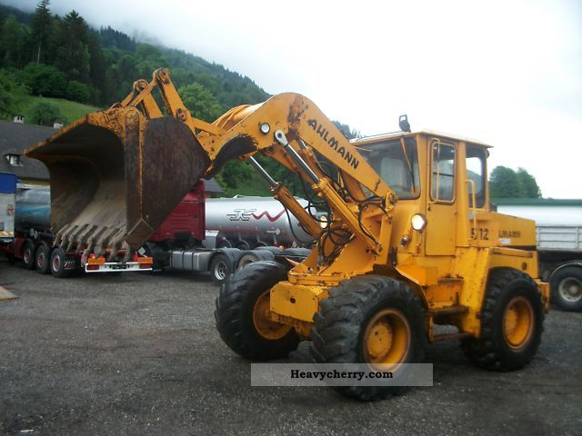 1988 Ahlmann  Wheel loader + Bager Construction machine Wheeled loader photo