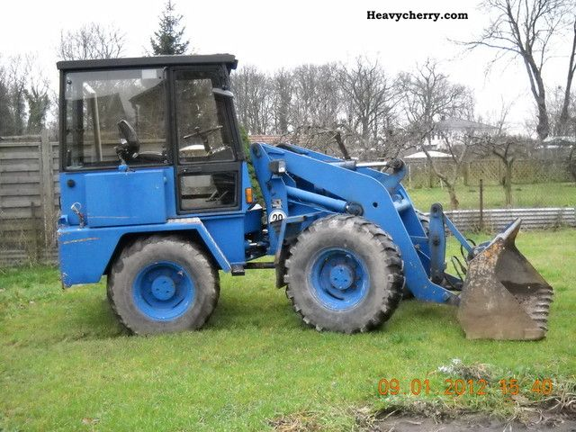 1990 Ahlmann  AL8C Construction machine Wheeled loader photo