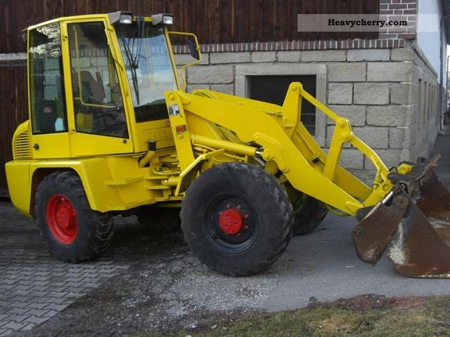 2002 Ahlmann  AL 85 Construction machine Wheeled loader photo