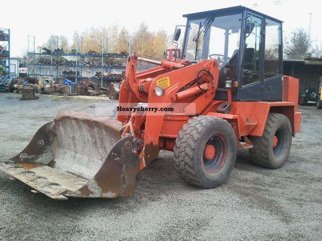 1996 Ahlmann  AS 6, swing loaders, 6.8 to Construction machine Wheeled loader photo
