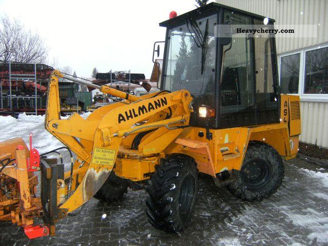 1994 Ahlmann  AS 4 Construction machine Wheeled loader photo