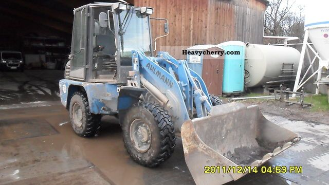 2000 Ahlmann  70e Construction machine Wheeled loader photo