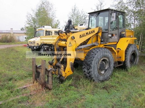 2011 Ahlmann  AS 200 Pallet fork grapple boom climate Construction machine Wheeled loader photo