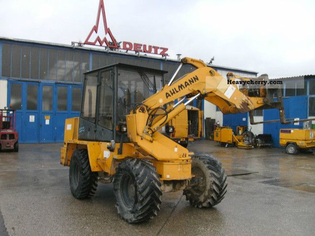 1995 Ahlmann  AS 6 loader swing Construction machine Wheeled loader photo