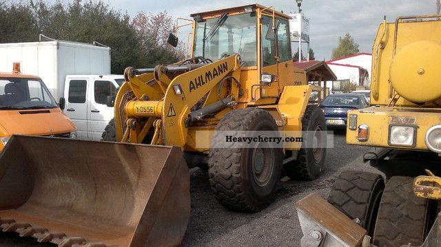 2001 Ahlmann  AZ 200 swing loader Construction machine Wheeled loader photo