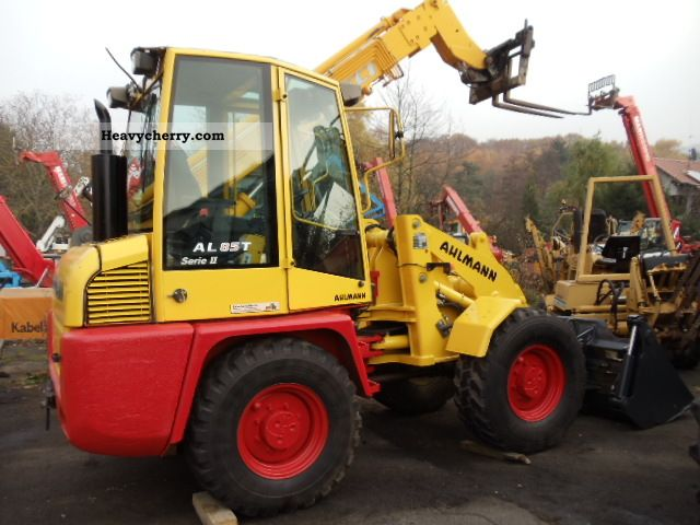 2011 Ahlmann  T Series II wheel loader AL 85 AR 65 compare Construction machine Wheeled loader photo