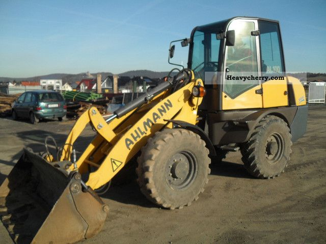 2005 Ahlmann  AL 100 fully equipped 4x4 folding shovel and fork Construction machine Wheeled loader photo