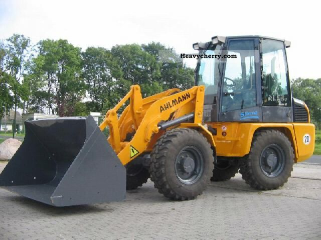 2004 Ahlmann  AL 85t Construction machine Wheeled loader photo