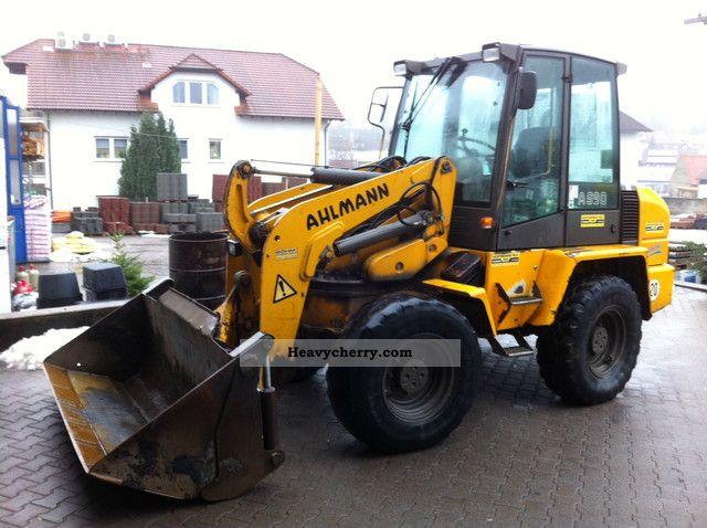 2001 Ahlmann  AS 85 - AS 90 Construction machine Wheeled loader photo