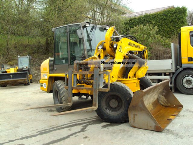 2003 Ahlmann  Swing Loader AS 90 Construction machine Wheeled loader photo