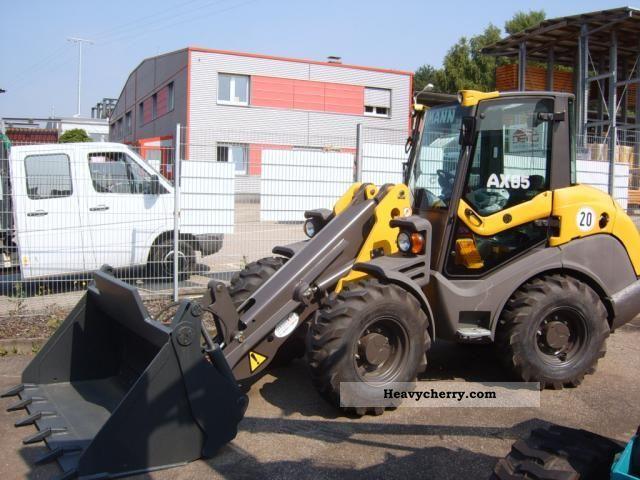 2009 Ahlmann  AX 85 Construction machine Wheeled loader photo