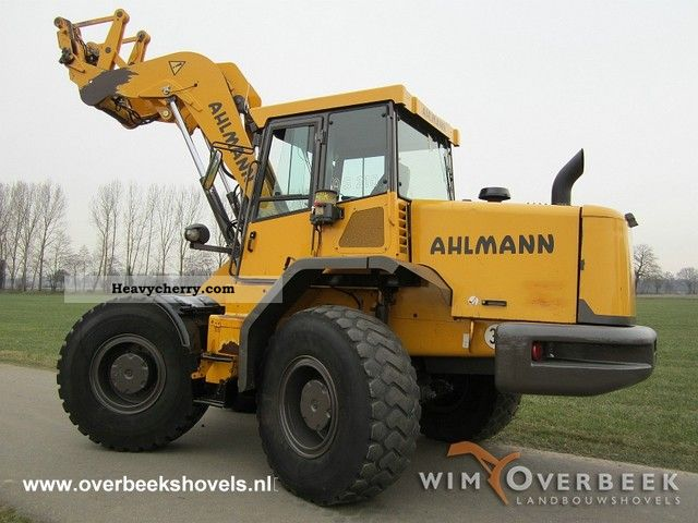 2004 Ahlmann  AS210 Swing Loader Construction machine Wheeled loader photo