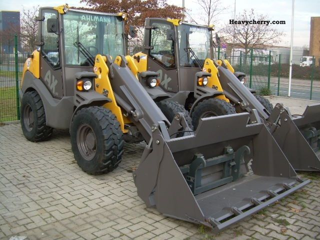 2011 Ahlmann  AX 850, Year 2011, Klappchaufel, fork Construction machine Wheeled loader photo