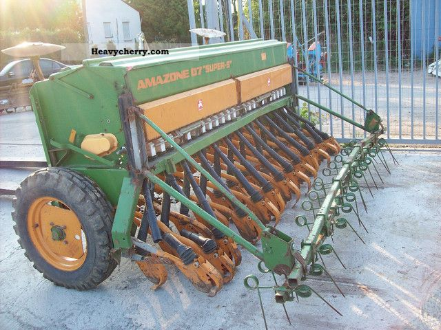 2011 Amazone  SEEMACHINE SUPER -5 Agricultural vehicle Other substructures photo