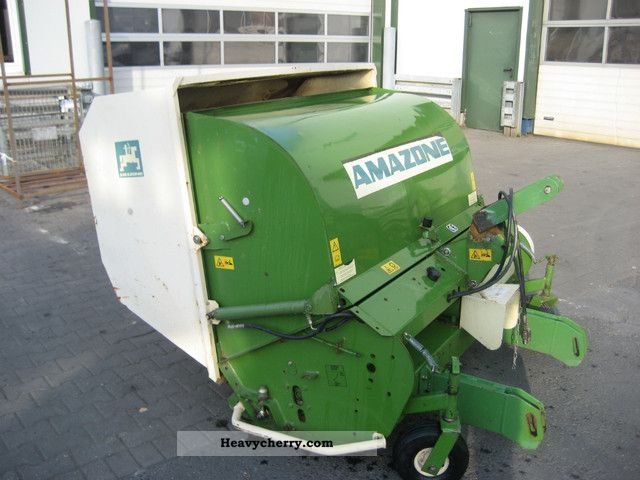 2000 Amazone  Grasshopper mower GH 150 Agricultural vehicle Harrowing equipment photo