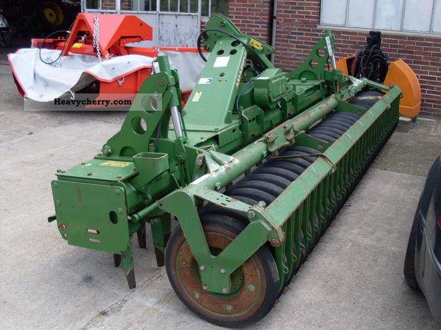 2003 Amazone  KE rotary harrow 403-250 wedge ring roller KW 402/580 Agricultural vehicle Harrowing equipment photo