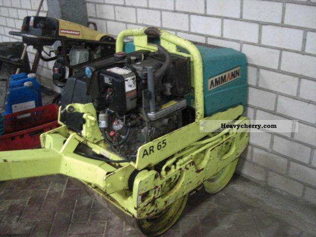 2000 Ammann  AR 65 Construction machine Rollers photo