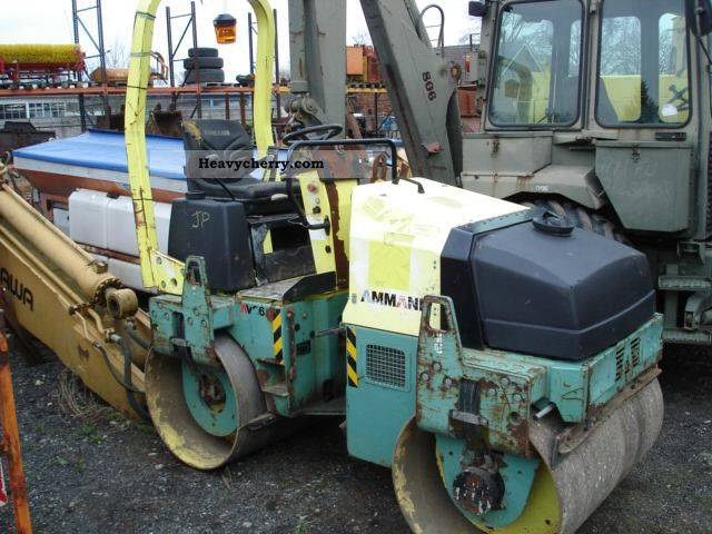 2000 Ammann  AV 26 with orig. 798 Bh Construction machine Rollers photo