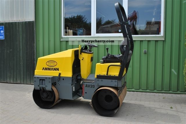 2000 Ammann  Tandem roller, AV 20E Construction machine Rollers photo