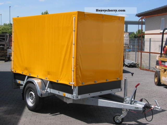2011 Atec  BOX TRAILER WITH WOOD vinyl cover Trailer Trailer photo