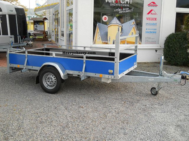 2011 Atec  Kastenanh. blue Trailer Trailer photo