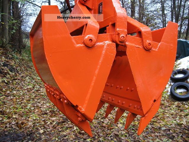 2011 Atlas  Clamshell bucket 130 L Construction machine Other substructures photo