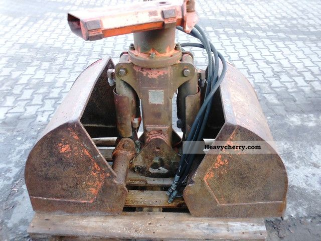 2011 Atlas  Clamshell, Atlas, Arb-width: 600 mm Construction machine Other substructures photo