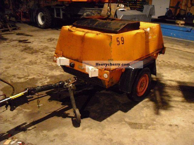 1993 Atlas  Copco XAS 55 Construction machine Construction Equipment photo