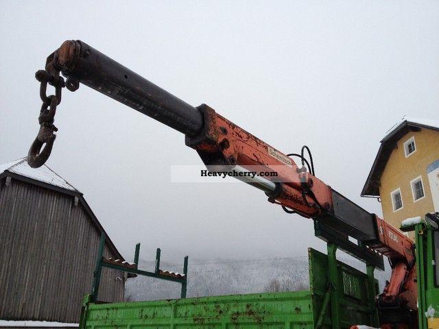 1980 Atlas  AK 4006 / 1 200 (2 HYDRAULIC EXTENSIONS BJ 1980) Construction machine Construction crane photo