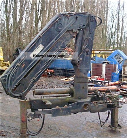 1984 Atlas  AK 3006 B Construction machine Construction crane photo