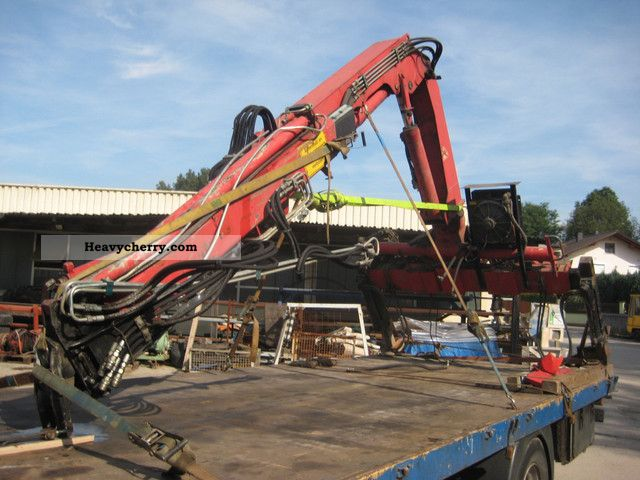 2000 Atlas  85.1 A -2 crane Construction machine Construction crane photo