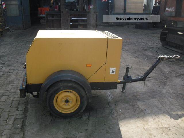 1995 Atlas  Copco XAS 36 compressor ** 9.3 ** bar/Bj.95 Construction machine Other construction vehicles photo
