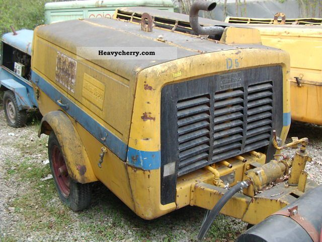 1975 Atlas  XAS 60 compressor Construction machine Other construction vehicles photo
