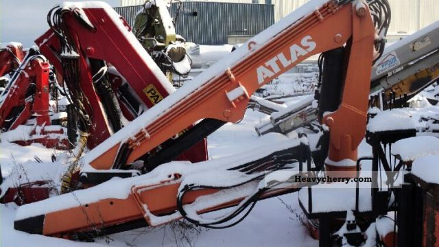 1995 Atlas  100.1 Construction machine Construction crane photo