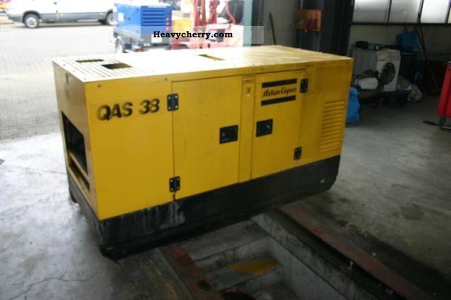 2000 Atlas  Copco QAS 38 generators Construction machine Other construction vehicles photo