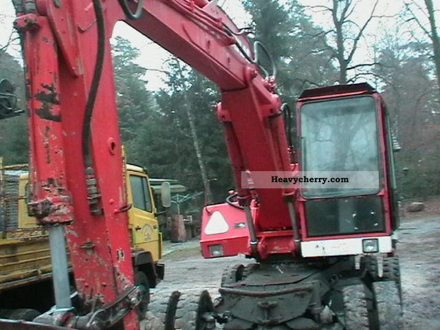 1978 Atlas  1602 Construction machine Mobile digger photo