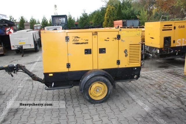 2003 Atlas  Copco QAS 38 generators Construction machine Other construction vehicles photo