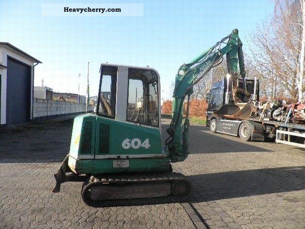 1997 Atlas  604 Construction machine Mini/Kompact-digger photo