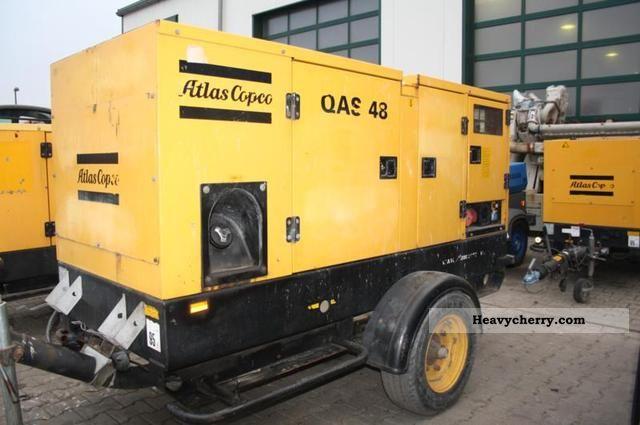 2003 Atlas  Copco QAS 48 generators Construction machine Other construction vehicles photo